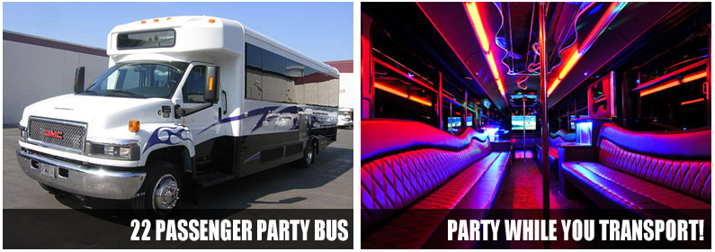Party Bus Rentals Stockton