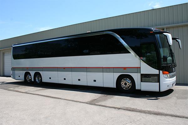 Stockton 56 Passenger Charter Bus